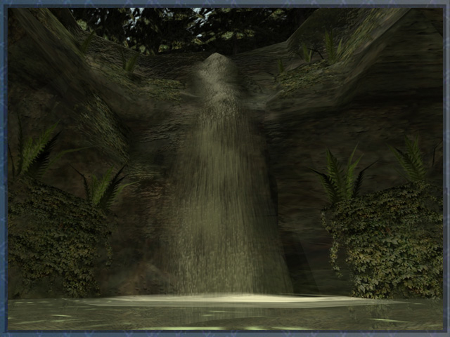 Waterfall render